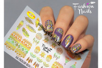 Слайдер-дизайн Fashion Nails Galaxy 001