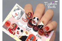 Слайдер-дизайн Fashion Nails Stretch 079