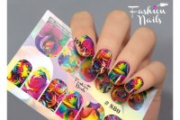 Слайдер-дизайн Fashion Nails Stretch 080