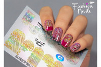Слайдер-дизайн Fashion Nails Galaxy 009