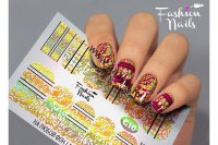 Слайдер-дизайн Fashion Nails Galaxy 010