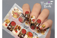 Слайдер-дизайн Fashion Nails Stretch 091