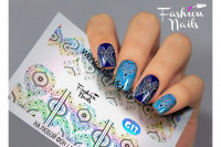 Слайдер-дизайн Fashion Nails Galaxy 013