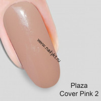 Гель-камуфляж Plaza Cover Pink 2 Nika Nagel 15мл
