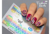Слайдер-дизайн Fashion Nails Galaxy 016