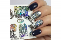 Слайдер-дизайн Fashion Nails Galaxy 017