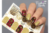 Слайдер-дизайн Fashion Nails Stretch 097