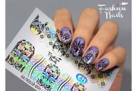 Слайдер-дизайн Fashion Nails Galaxy 021