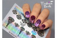 Слайдер-дизайн Fashion Nails Galaxy 023