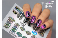 Слайдер-дизайн Fashion Nails Galaxy 025