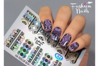 Слайдер-дизайн Fashion Nails Galaxy 027