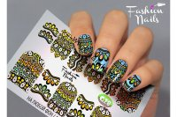 Слайдер-дизайн Fashion Nails Galaxy 028