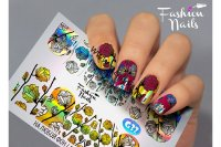 Слайдер-дизайн Fashion Nails Galaxy 032