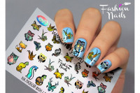 Слайдер-дизайн Fashion Nails Galaxy 033