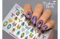 Слайдер-дизайн Fashion Nails Galaxy 034