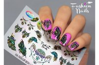 Слайдер-дизайн Fashion Nails Galaxy 036