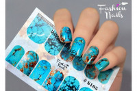 Слайдер-дизайн Fashion Nails Stretch 105
