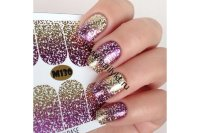 Слайдер-дизайн Fashion Nails Metallic 130