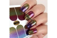 Слайдер-дизайн Fashion Nails Metallic 129