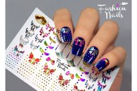 Слайдер-дизайн Fashion Nails Metallic 042