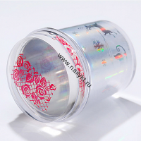 (44989-2) Набор штамп прозрачный Christmas Holographic Transrent Stamper. Born Pretty