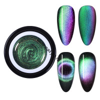 Гель-лак CE-06 9D Cat Eye Series магнитный 5мл Born Pretty