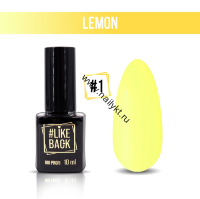 Гель-лак Like Back Lemon от Rio Profi №01 10мл