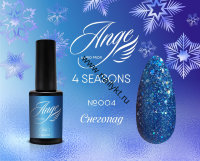 Гель-лак Каучуковый Ange 4 Seasons от Rio Profi №04 Снегопад 7 мл