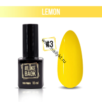 Гель-лак Like Back Lemon от Rio Profi №03 10мл