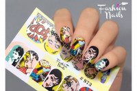Слайдер-дизайн Fashion Nails Stretch 073